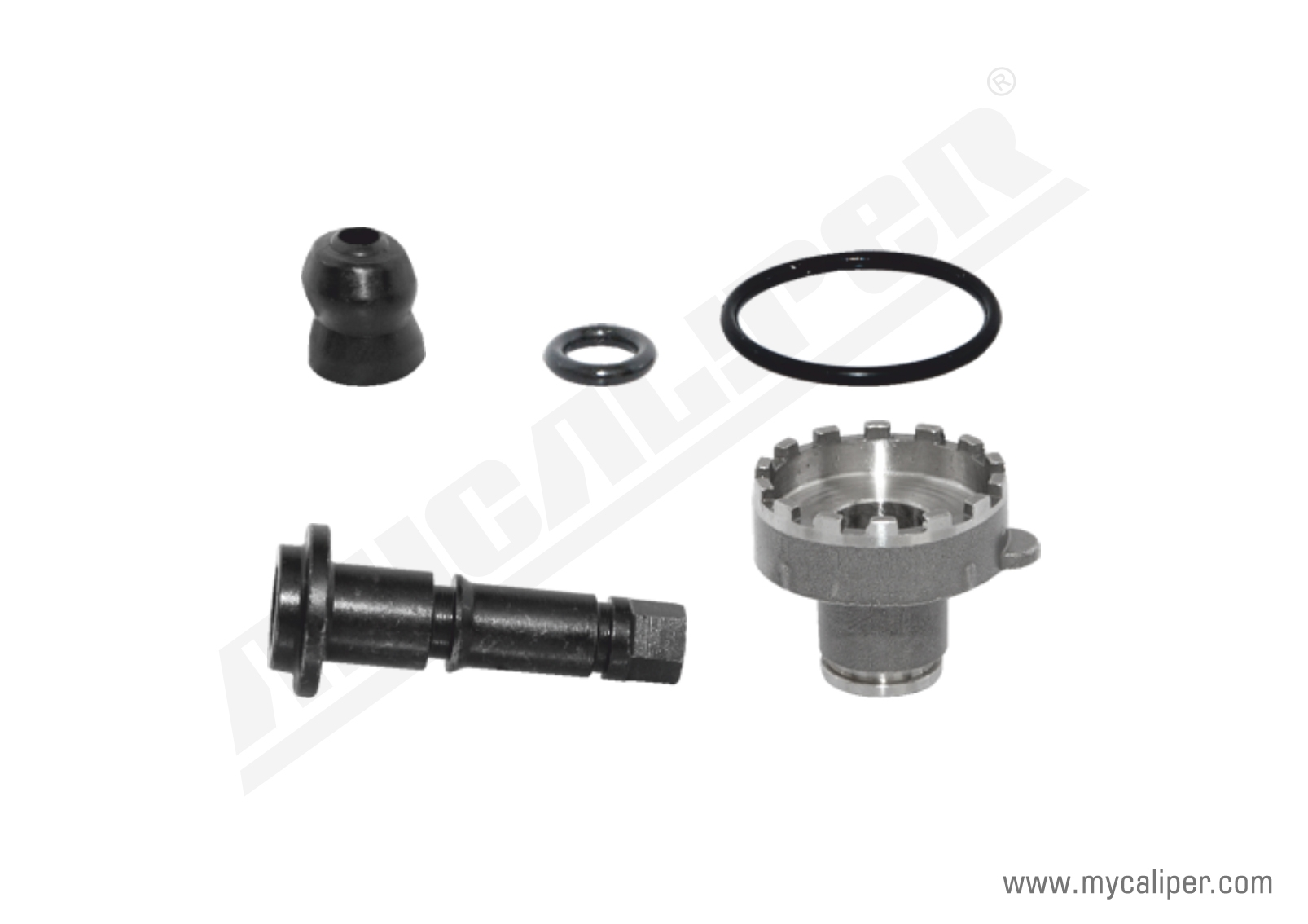 Brake Adjusting Pin Kit (Wide Teeth)