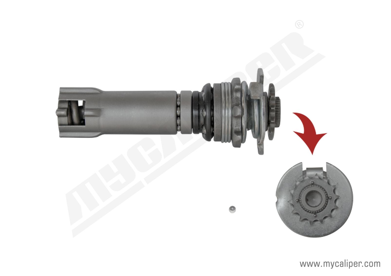 Caliper Adjusting Mechanism