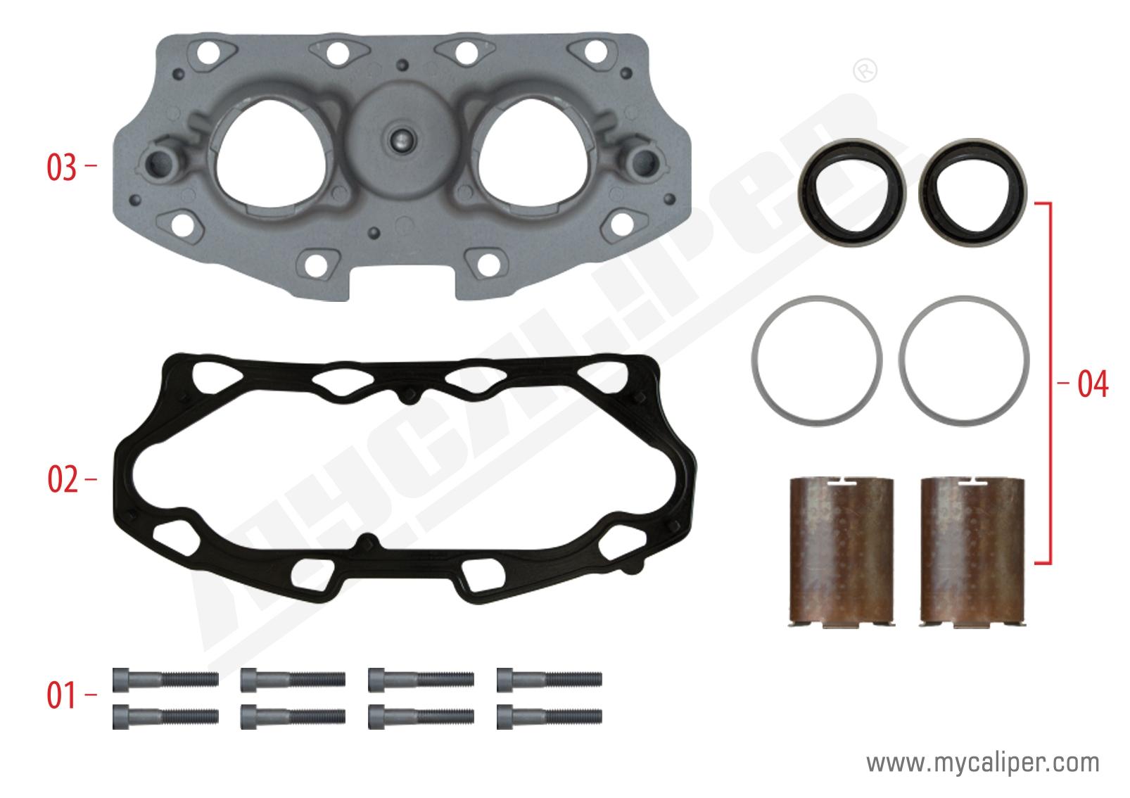 Caliper Calibration Mechanism Cover (Aluminium)