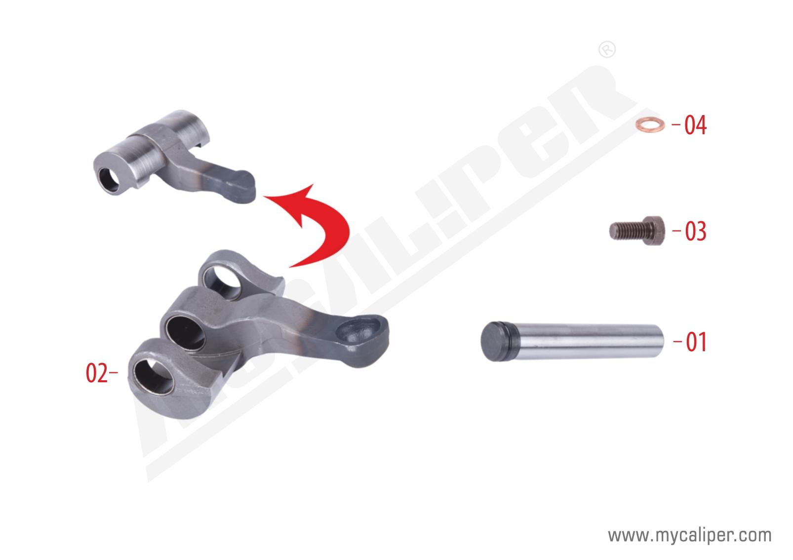 Caliper Lever Repair Kit