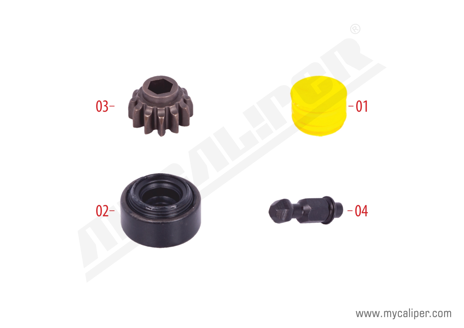Caliper Plug Repair Kit