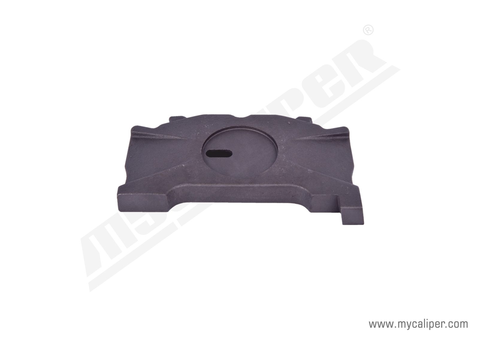 Caliper Push Plate Slotted (Right)