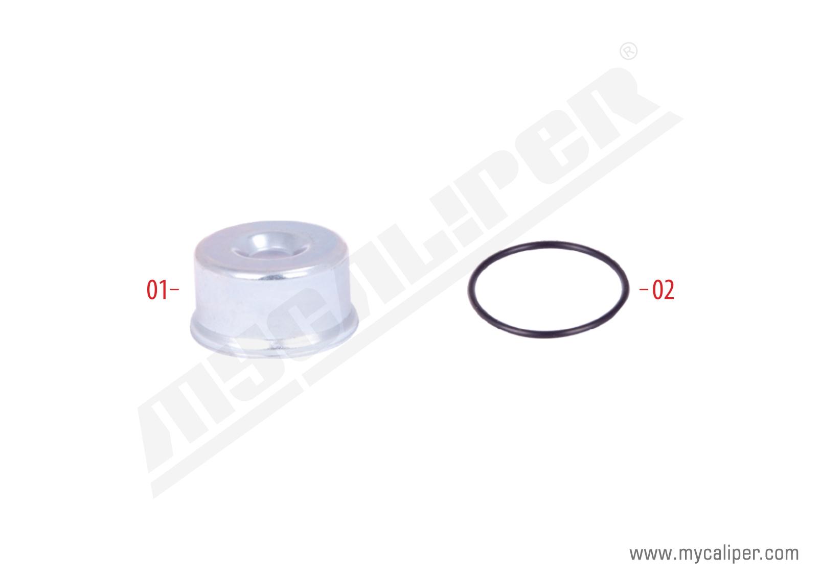Caliper Steel Cap Repair Kit