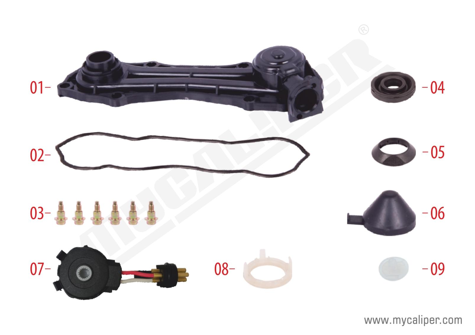 Caliper Sensor Cover (2 Cables Sensor)