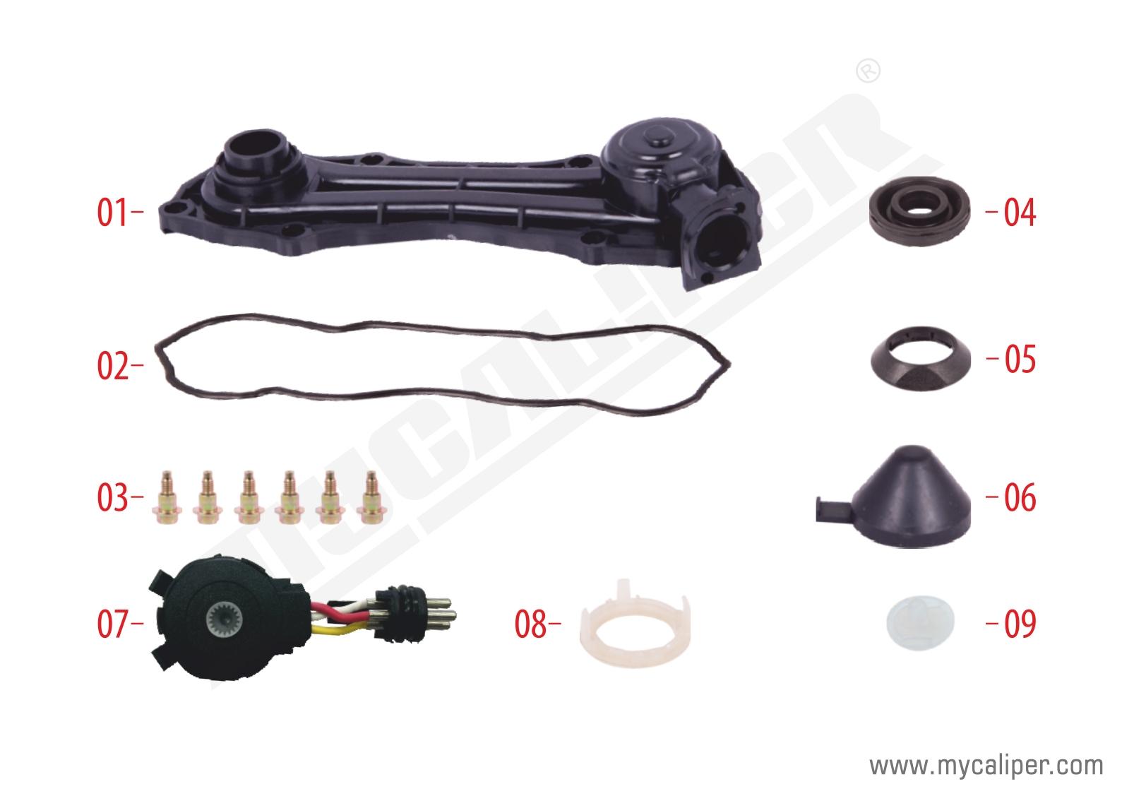 Caliper Sensor Cover (3 Cables Sensor - MAN TGA)