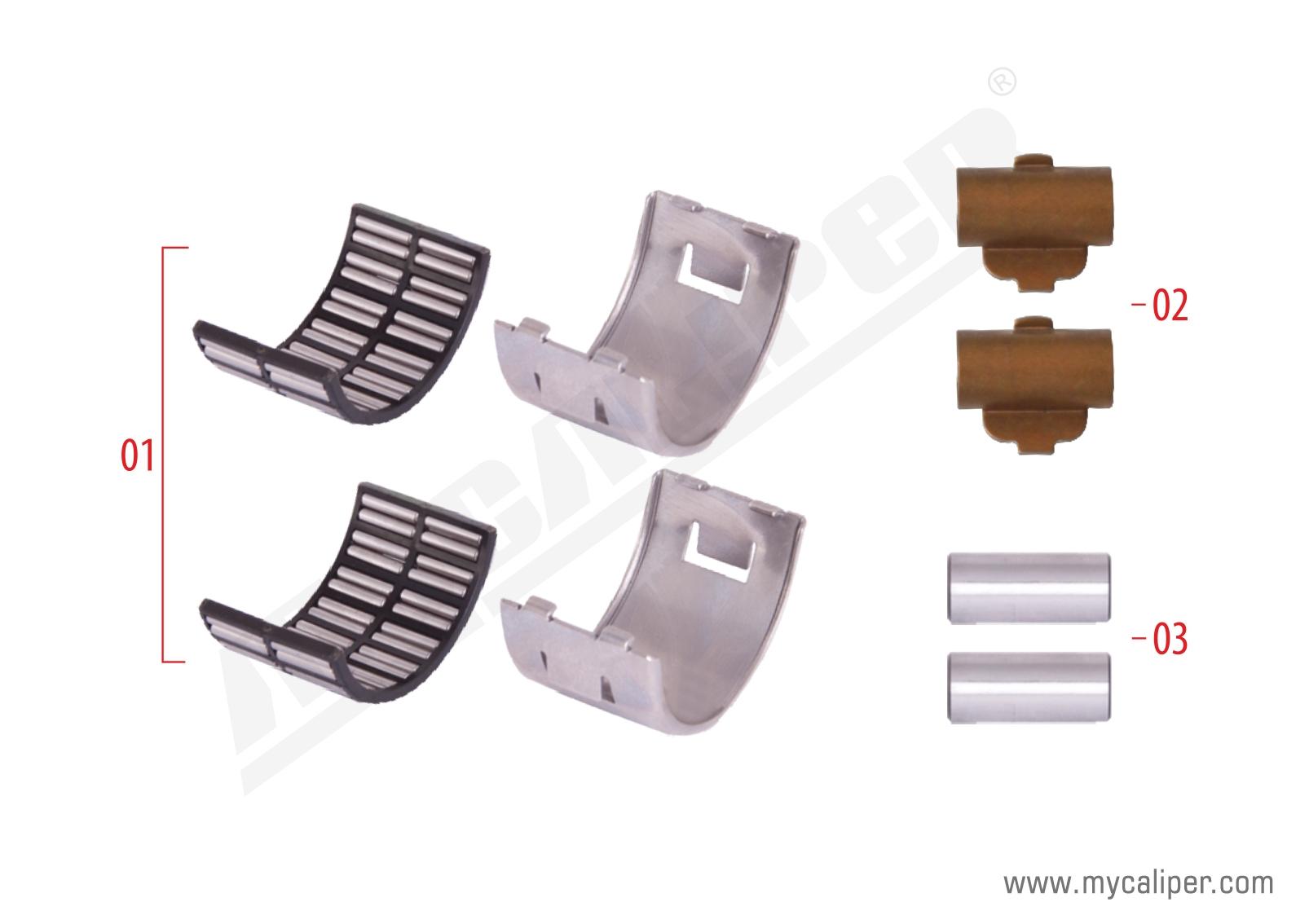 Caliper Bearing Repair Kit (EX225 Radial)