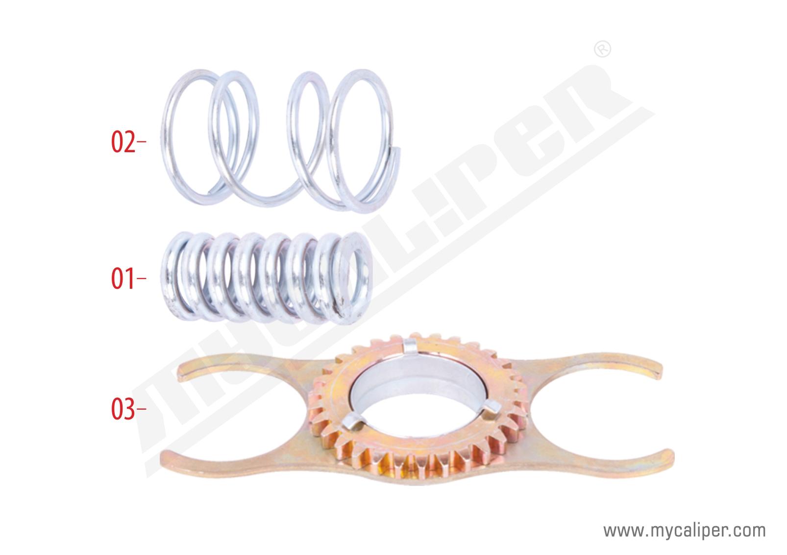 Caliper Gear & Spring Repair Kit