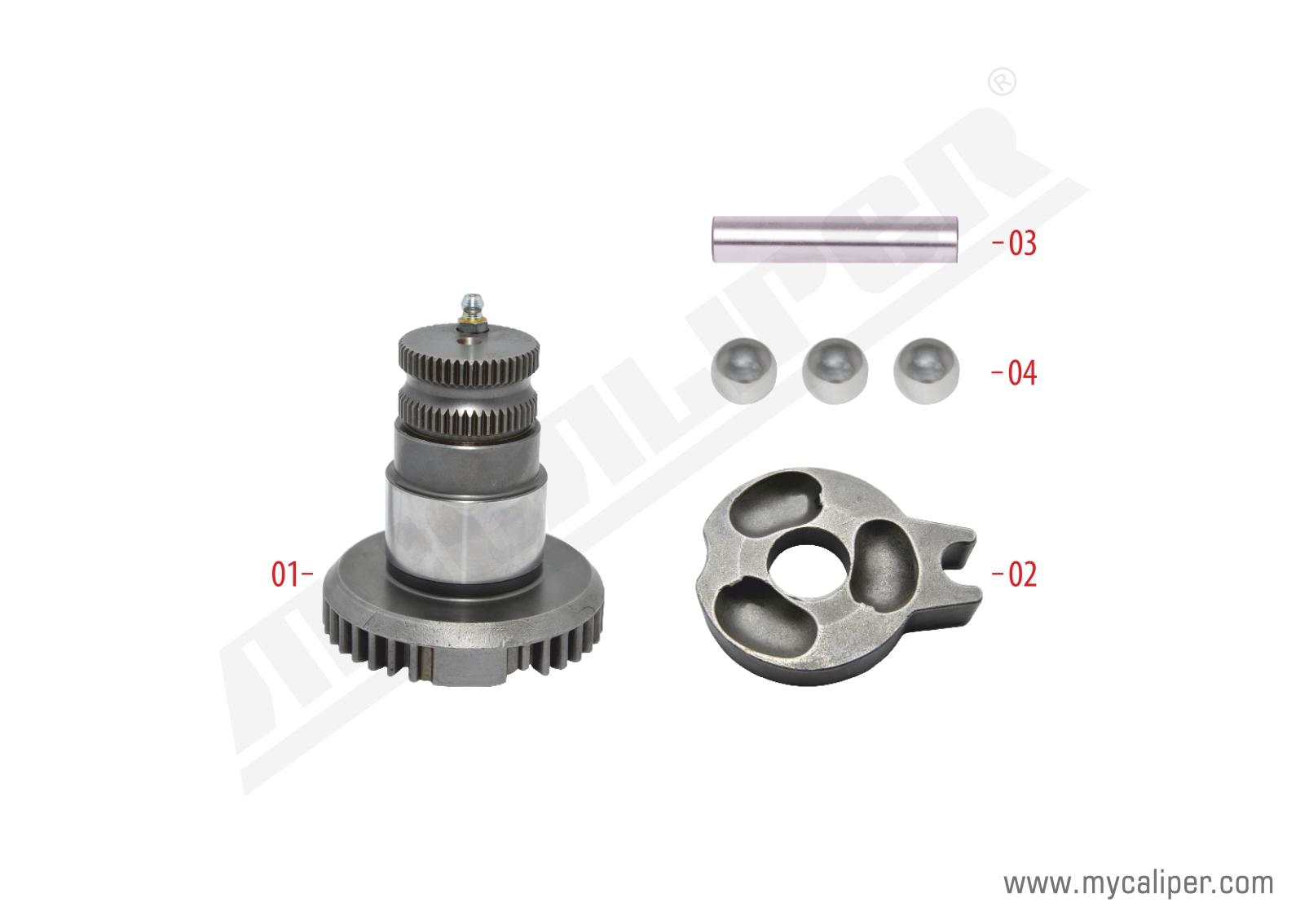 Caliper Shaft Repair Kit (Right)