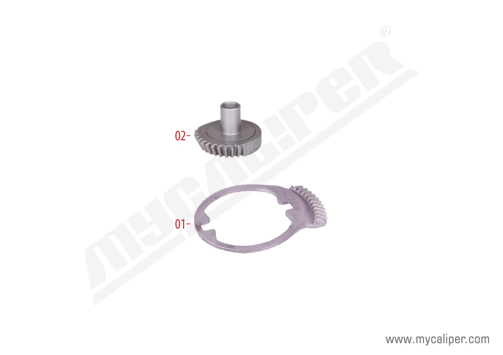 Caliper Centering Gear Kit