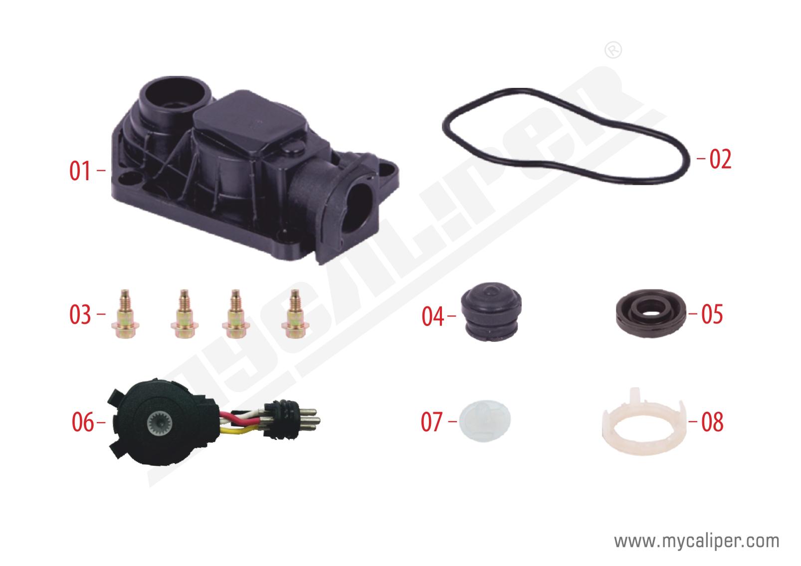 Caliper Sensor Cover (3 Cables Sensor for  12-160 MAN TGL)