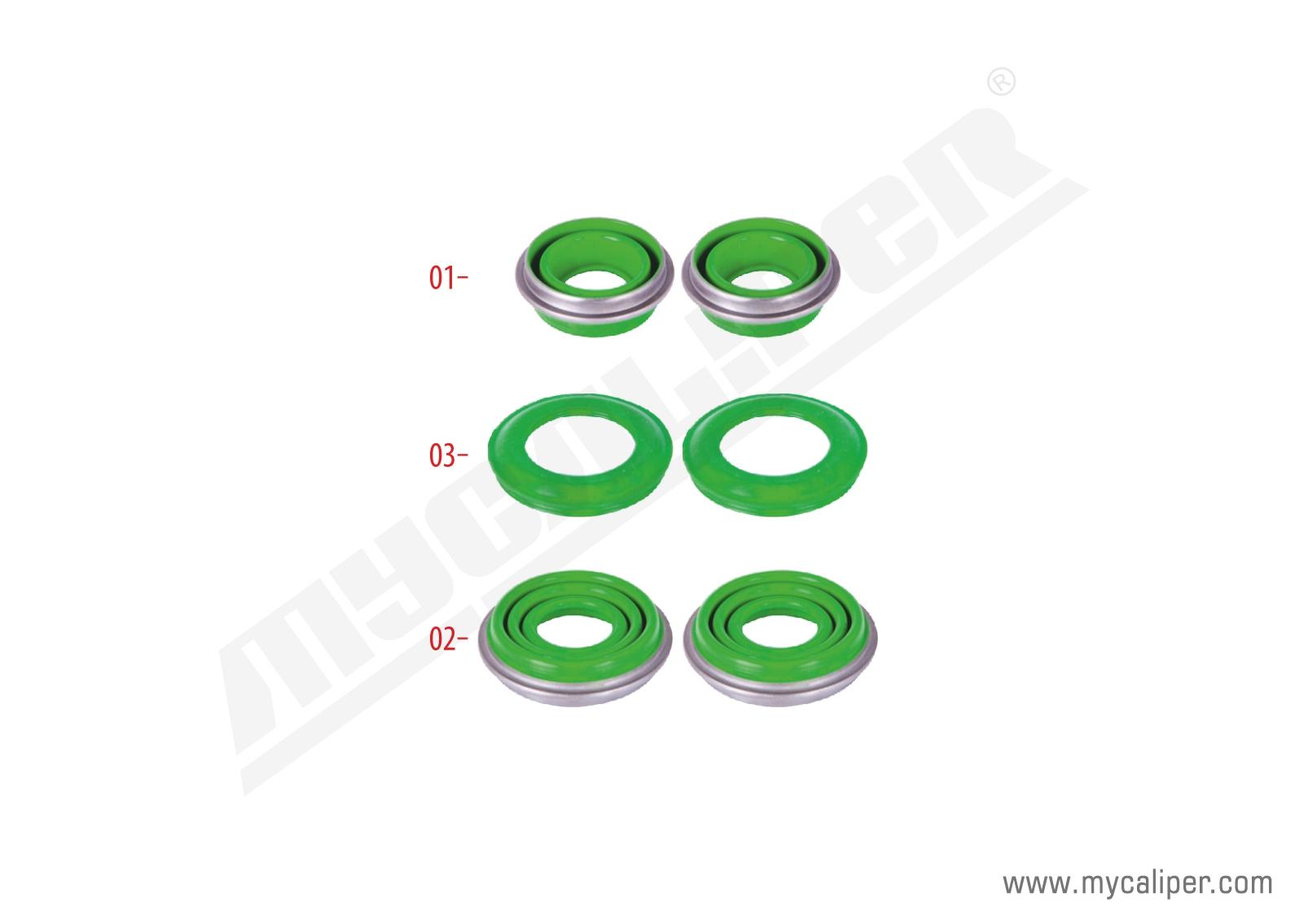 Caliper Seals Repair Kit